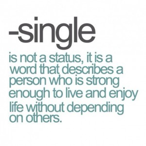 Single not a status